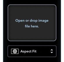 Editor for Fill Image