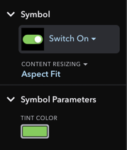 Inspector Section for Symbol Layer