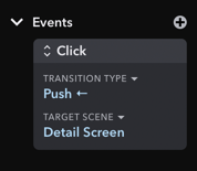 Inspector for Event