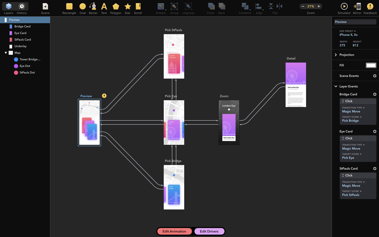Drama Mac 破解版 动画原型设计软件-麦氪派